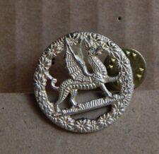 The Royal Regiment of Wales Collar Badge Anodised Aluminium Genuine