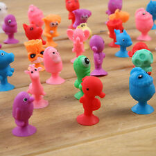50pcs Mini Animal Cup Capsule Sucker Cartoon Ocean Action Monster Toys Kids Gift