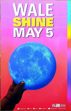 WALE Shine 2017 Ltd Ed New RARE Poster +FREE Hip-Hop Rap Poster! Maybach Music