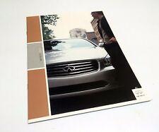 2003 Infiniti FX45 Q45 M45 I35 G35 Sedan Coupe QX4 Preview Brochure