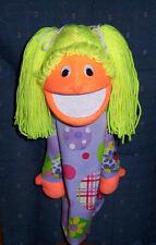 "Blacklight Girl Puppet-13"" tall-Ministry,Teachers,Chr Education-Your choice"