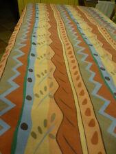 tissus rayures ,belles teintes 2m;85en tout =rideau,coussins ....