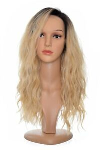 Long Rooted Honey Blonde Bodywave Lace Front Teagan Wig. Styleable. Unisex