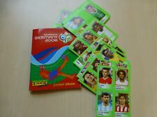 Panini Fussball WM 2006 Pocket Leeralbum und 7 vers. Stickerbögen TOP WM 06