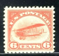 [X]   US #C1 ~1st Airmail Stamp ~ 1918 'Jenny' Mail Transport Plane ~ MNH OG
