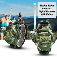 1 Pair 7in1 Watches Walkie Talkie Children Watch Radio Two Way Interphone Toy GW