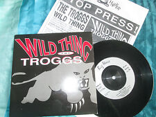 "The Troggs Wild Thing / Ghost Train Big Wave BWR 27 + P/R UK 7"" Vinyl Single"