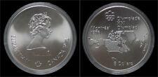 Canada 5 dollar 1976- Montreal olympics- North American map