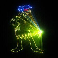 1000mw Full RGB Laser ILDA Stage Lighting with SD Card DMX512 DJ Projector Light