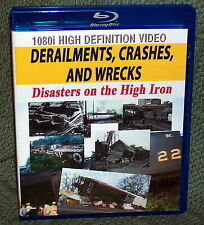 "20311 BLU-RAY HD TRAIN VIDEO ""DERAILMENTS, CRASHES AND WRECKS"" 1934 TO 2011"