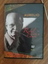 Signed Aurelio rebel with a cause dvd auto by aurelio de la vega