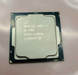 Intel SR335 Core i5-7500 3.40GHz Quad Core Socket 1151 CPU Processor LGA 1151