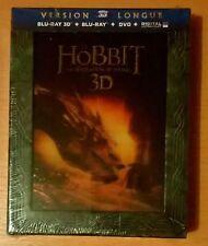 Coffret NEUF scellé le HOBBIT La Désolation de Smaug Version Longue Blu-ray 3D