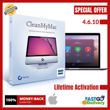 CleanMyMac X 4.6.10 For Mac OS ✔️ Lifetime Activated ✔️ Fast Delivery