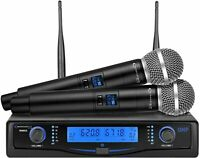 TECHNICAL PRO Technical Pro Professional UHF Dual Wireless Microphone System