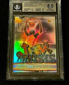 KOBE BRYANT 1999 TOPPS GOLD LABEL #JA8 JAM ARTIST'S REFRACTOR TYPE CARD BGS 8.5