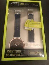 TYLT Moto 360 (2nd Gen) Silicone Watch Band women's 42mm - Blue