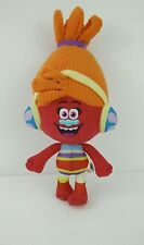 "DJ SUKI - DreamWorks Animation 2016 10"" Trolls Plush Doll Orange Movie Kids"