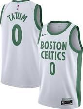 Boston Celtics Jayson Tatum #0 Nike 2020-21 NBA Swingman Jersey City Edition