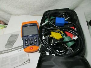 Actron CP9690 Elite Auto Scanner with case see pictures