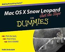 Mac OS X Snow Leopard Just the Steps For Dummies (For Dummies (Computers)), Unde