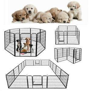 Welpenlaufstall Tierlaufstall Welpenauslauf Freigehege Hunde Tiere Laufstall DE