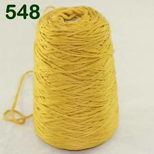 Sale 400g Cone Soft Cotton Chunky Super Bulky Hand Wrap Shawl Knitting Yarn 48