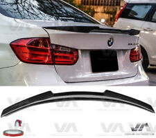 BMW 3 SERIES M3 F30 F80 M4 STYLE REAL CARBON FIBER BOOT TRUNK LIP SPOILER