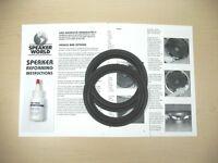 "Klipsch ""Dual 6.5"" Subwoofer Foam Repair Kit Model V.2-400 (1 pr)"