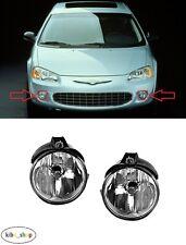 FOR CHRYSLER SEBRING JR 2000 - 2007 2X FRONT FOG LIGHT LAMPS PAIR LEFT + RIGHT