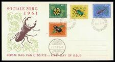 NL NEUGUINEA FDC 1961 FAUNA INSEKTEN KÄFER ANIMALS INSECTS BEETLE BUG z1716