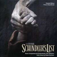 Schindler's List O.S.T. Original Soundtrack Filmmusik CD MCA