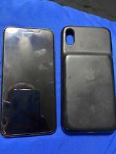 Apple iPhone XS Max BUNDLE - 256GB - Gloss Black (Unlocked) (Read Description)