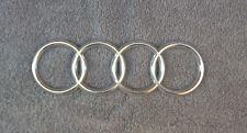 OEM Audi Body/Dash/Trunk Emblem. 18 cm