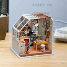 Diy Miniature House Jason's Kitchen Doll House Kits Dollhouse with Furniture