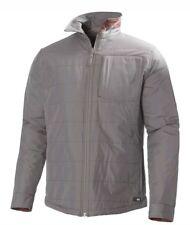HELLY HANSEN Mens Grey Check Jotun Reversible Water Resistant Jacket MEDIUM NEW