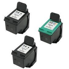 2X HP94+HP95 Reman Ink Cart 230% More Ink Deskjet 460 460c 460cb 460wf 5740 5743