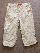 3/4 combattimento beige casual corto Pantaloni, Rover e Laghi Abbigliamento Sportivo, Taglia L