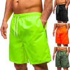 Badeshorts Badehose Schwimmhose Shorts Schwimmshort Sport Herren BOLF Unifarben
