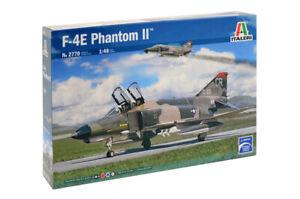 1:48 Italeri F-4E Phantom Ii Kit IT2770 Modellino
