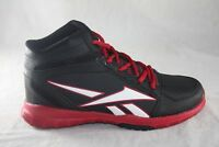 YOUTH REEBOK CLEAN SHOT BASKETBALL SHOE M44096 BLACK/RED/WHITE