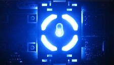 XBOX 360 BRIGHT BLUE RING OF LIGHT / RF BOARD MODULE - REPLACEMENT POWER BUTTON