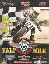 PROGRAM 2000 RT66 GRAND NATIONAL 1/2 MILE RACE ,HARLEY-DAVIDSON,HONDA,PARKER