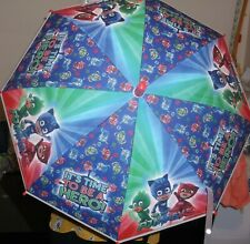 "PJ MASKS ""ITS TIME TO BE A HERO"" CHILDREN'S UMBRELLA IN RED/MULTI COLOUR (BNWT)"