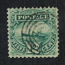 CKStamps: US Stamps Collection Scott#117 12c Pictorial Used CV$125