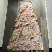 Sundance | Silk Into the Mystic Floral Dress Womens Petite 8