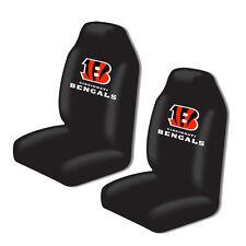 New 2pc NFL Gear Cincinnati Bengals Car Truck Front Bucket Seat Covers