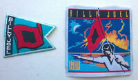 BILLY JOEL Patches Storm Front Set of TWO 1989