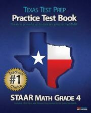 TEXAS TEST PREP Practice Test Book STAAR Math Grade 4: Aligned to the 2011-2012