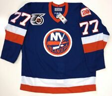 PIERRE TURGEON NEW YORK ISLANDERS AUTHENTIC 1991 NHL 75TH CCM JERSEY 48 NEW